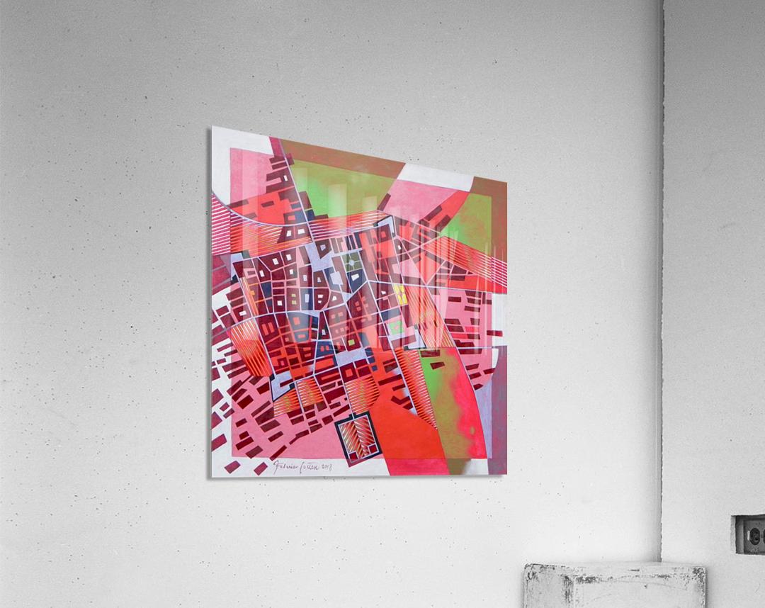 A journey to Italy Abbiategrasso  Acrylic Print