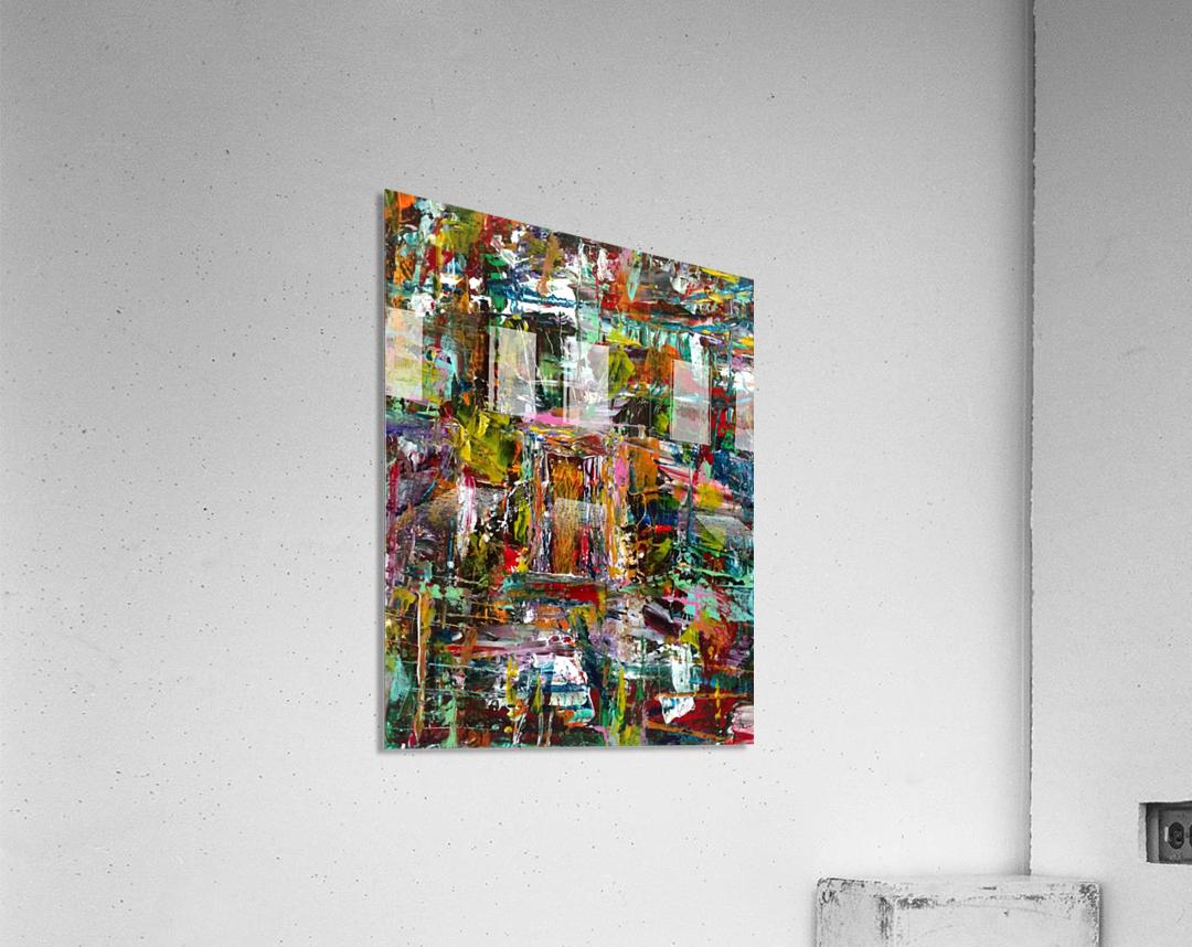 Girl in the Window  Acrylic Print