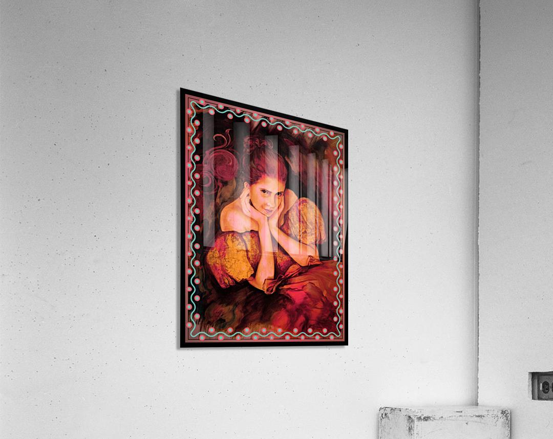 Flirty Girl   Acrylic Print