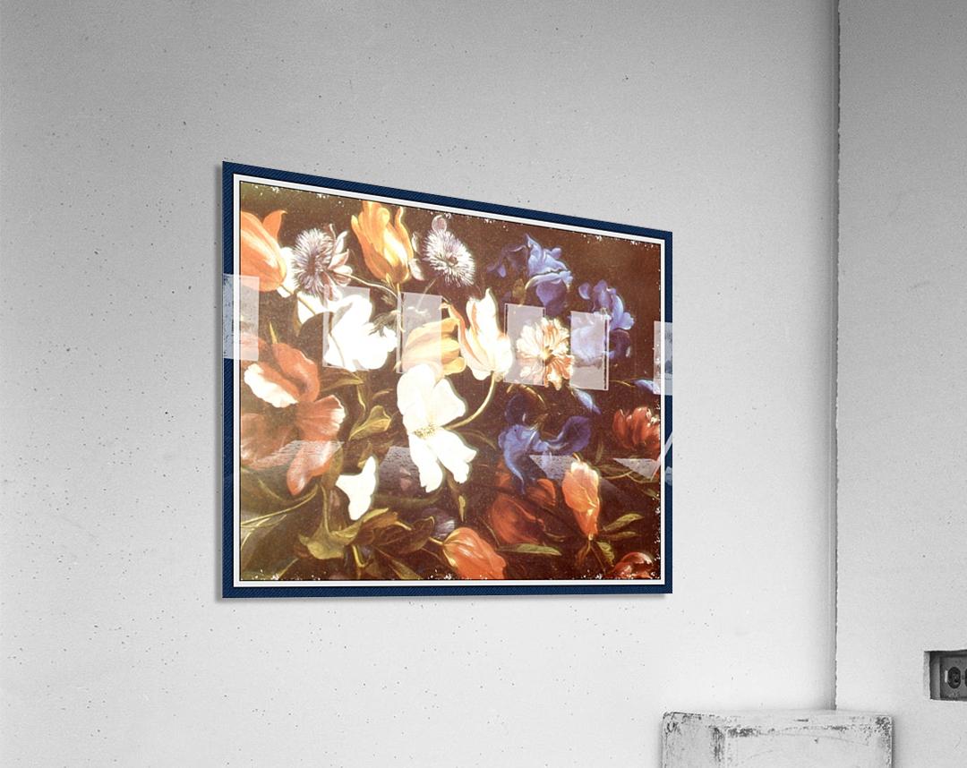 . Floral Explosion   9  Acrylic Print