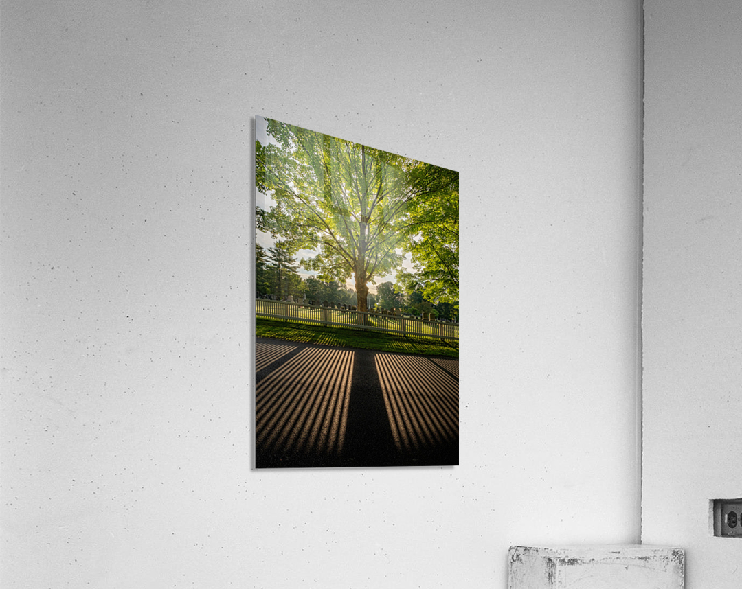 Sunrise in Dunstable  Acrylic Print