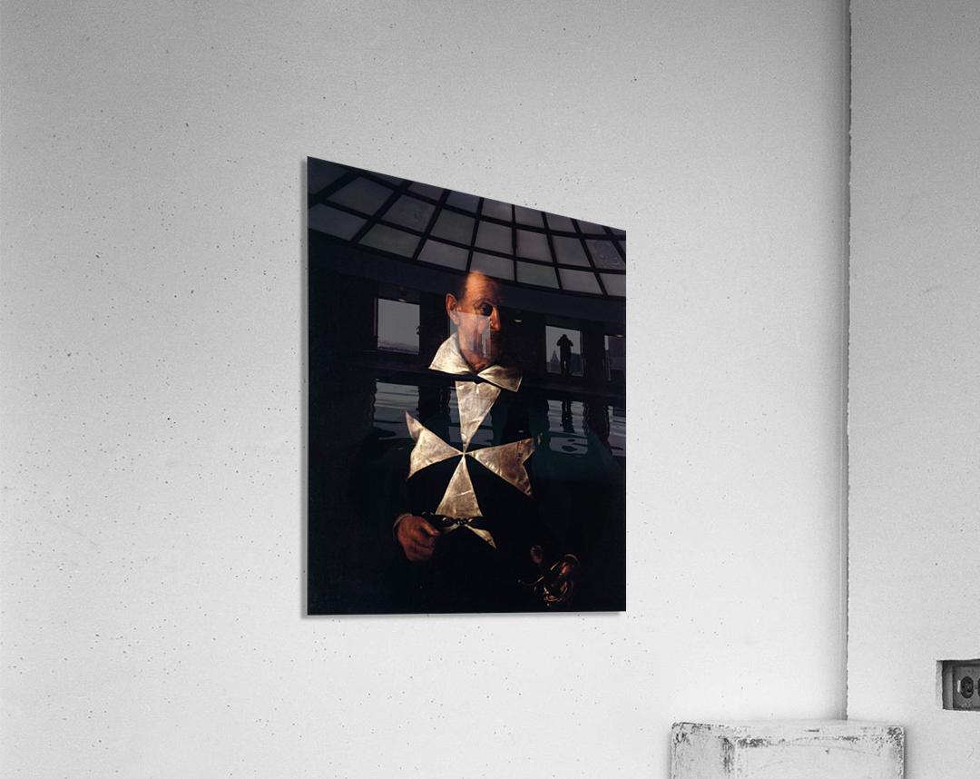 Portrait of a Maltese Knight  Acrylic Print