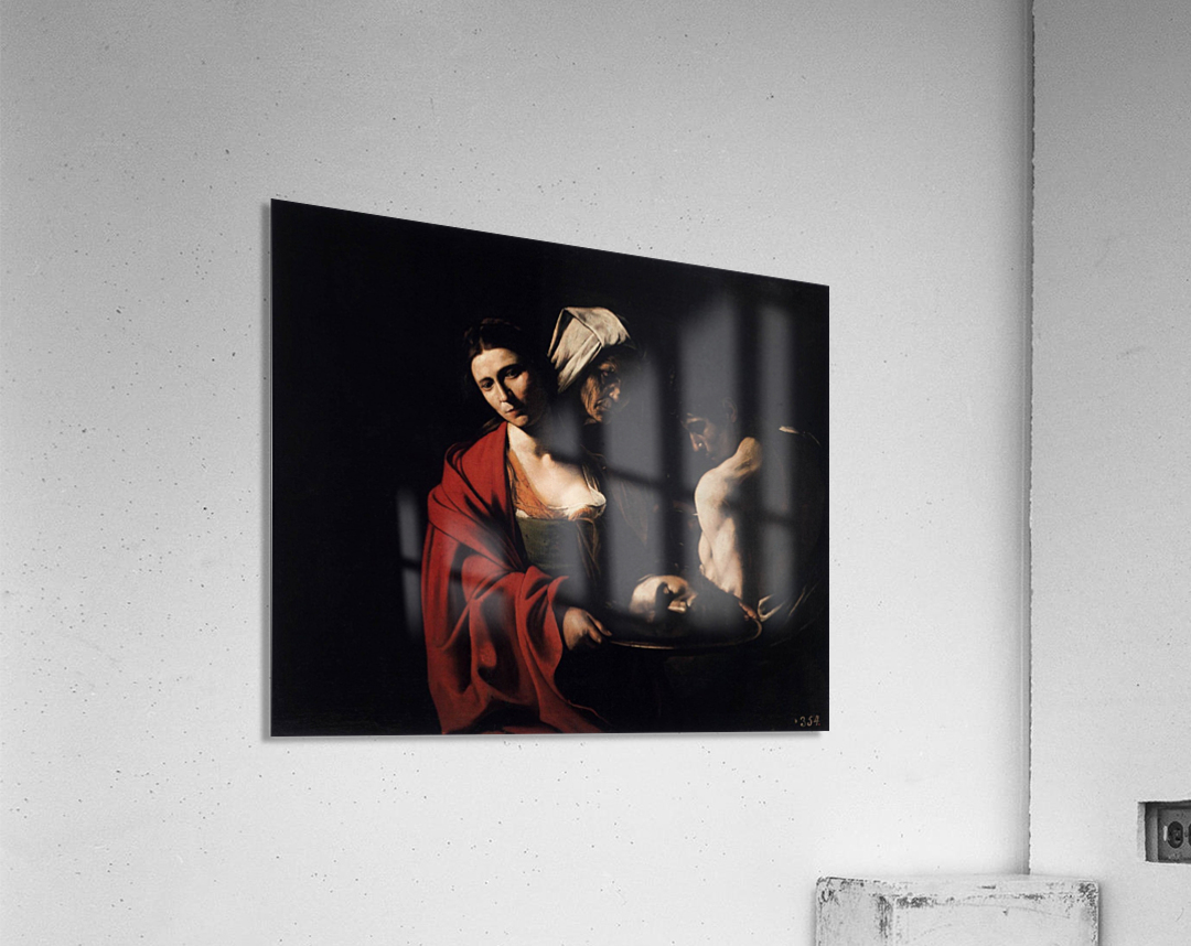 Salome with the head of the Baptist  Acrylic Print