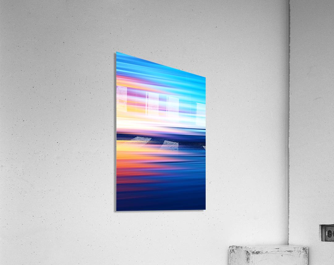 Abstract Sunset XI  Acrylic Print