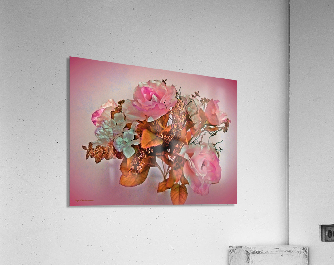 Pink Springtime Morning  Acrylic Print