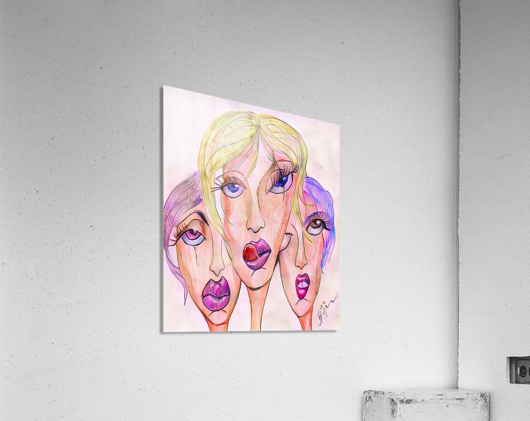 Attitude no.12  Acrylic Print