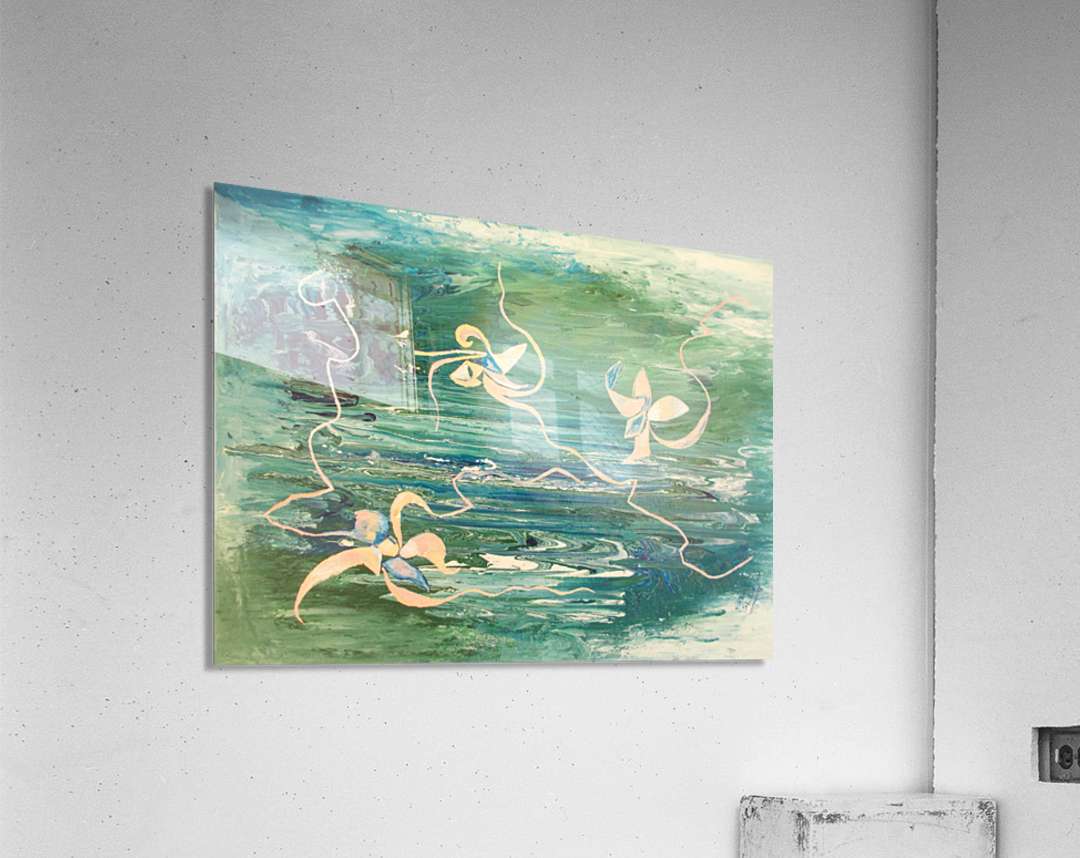 water surface abstraction  Acrylic Print
