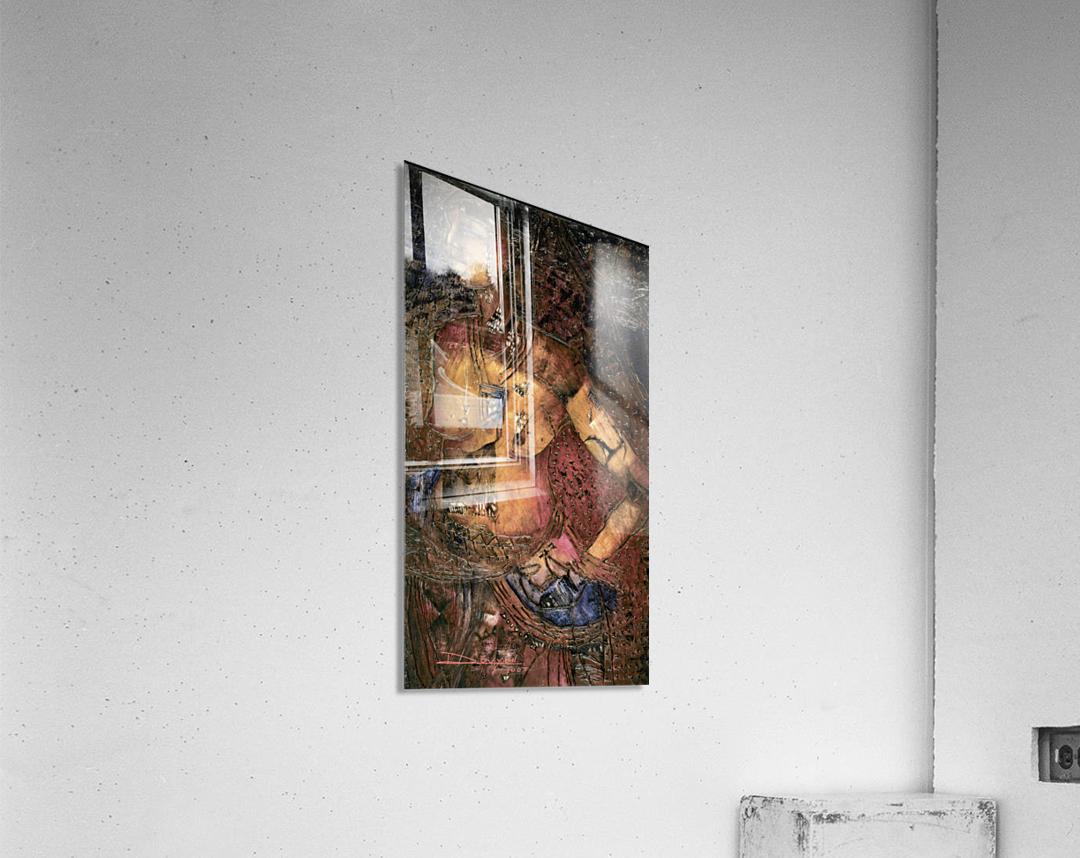 Jeun femme beninoise  Acrylic Print