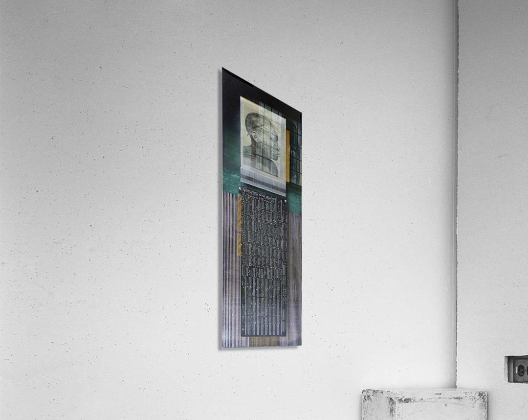 Electronik 1  Impression acrylique