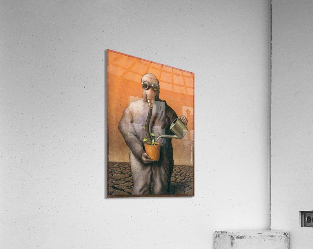 PawelKuczynski45  Impression acrylique