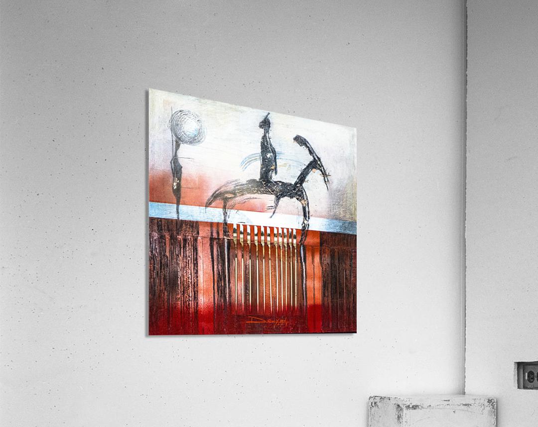 Shadow horserider 4  Acrylic Print