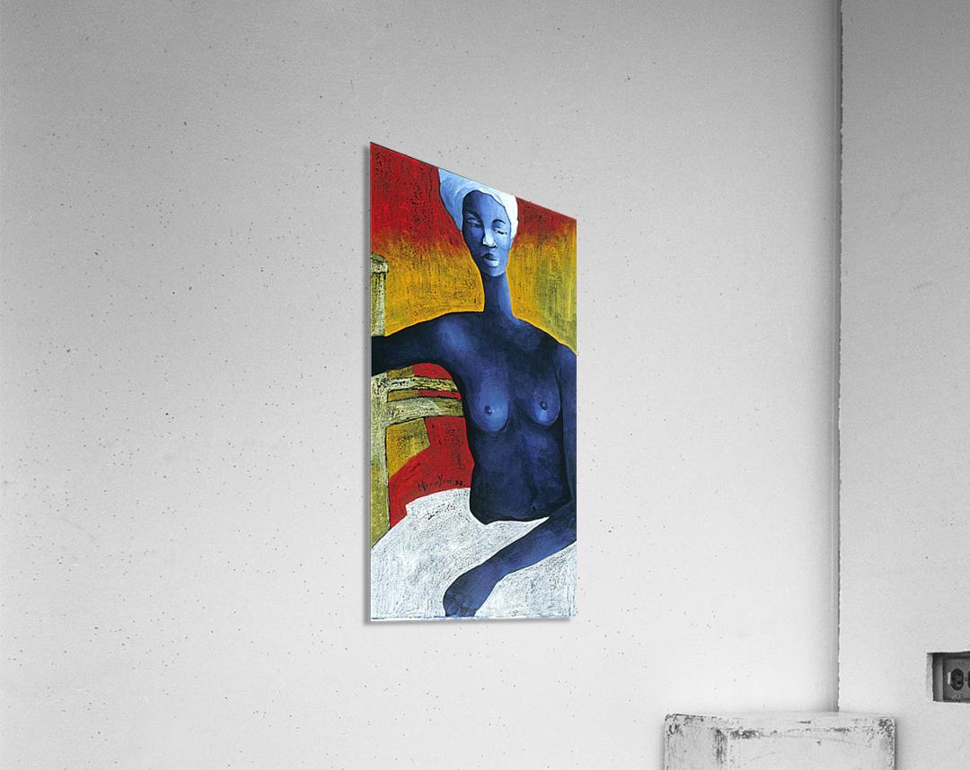 Blue Nude Woman  Acrylic Print