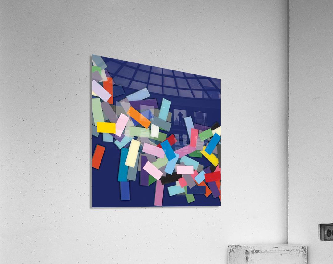 CHIC blue 1   Acrylic Print