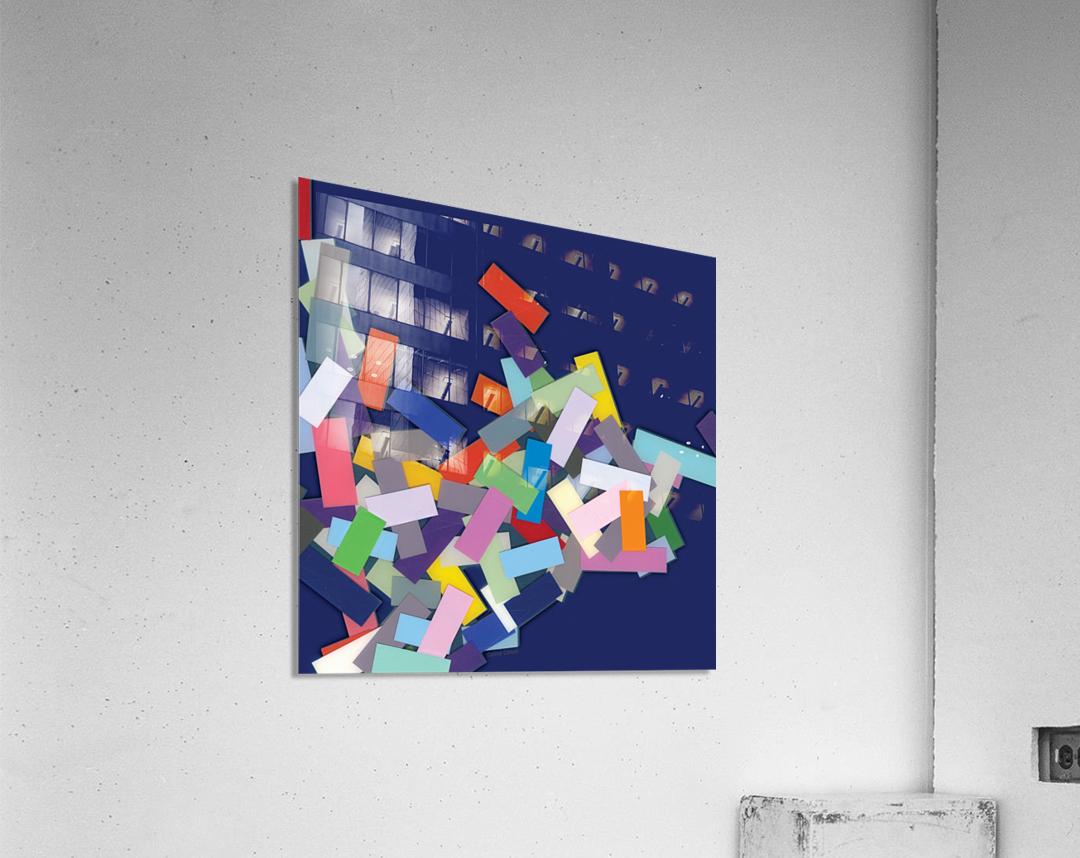CHIC blue 4   Acrylic Print