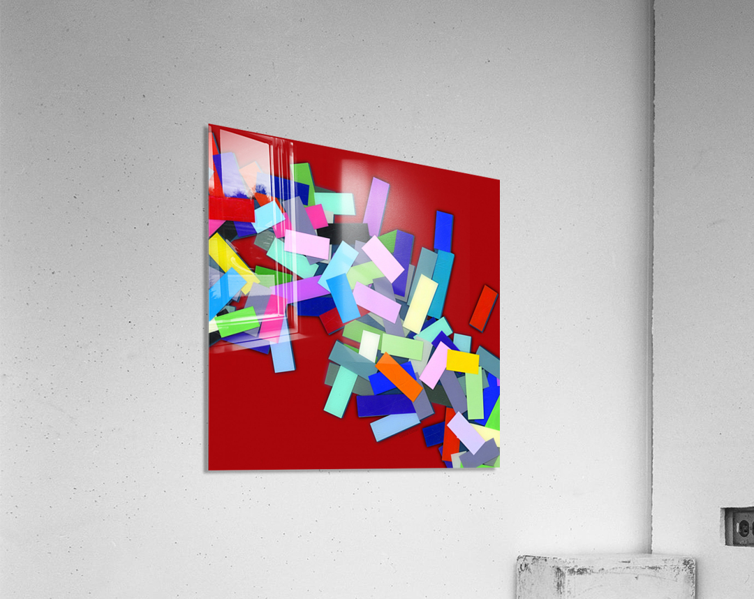 CHIC red 3   Acrylic Print