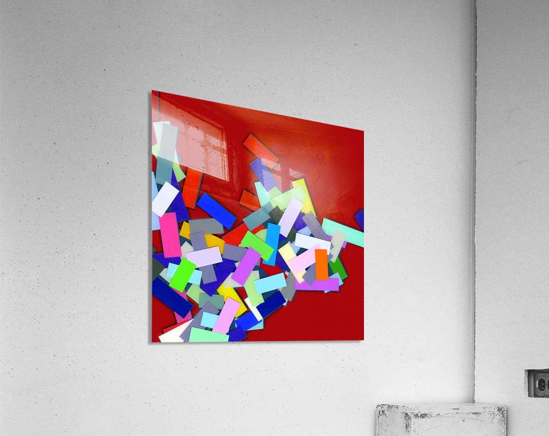 CHIC red 4   Acrylic Print