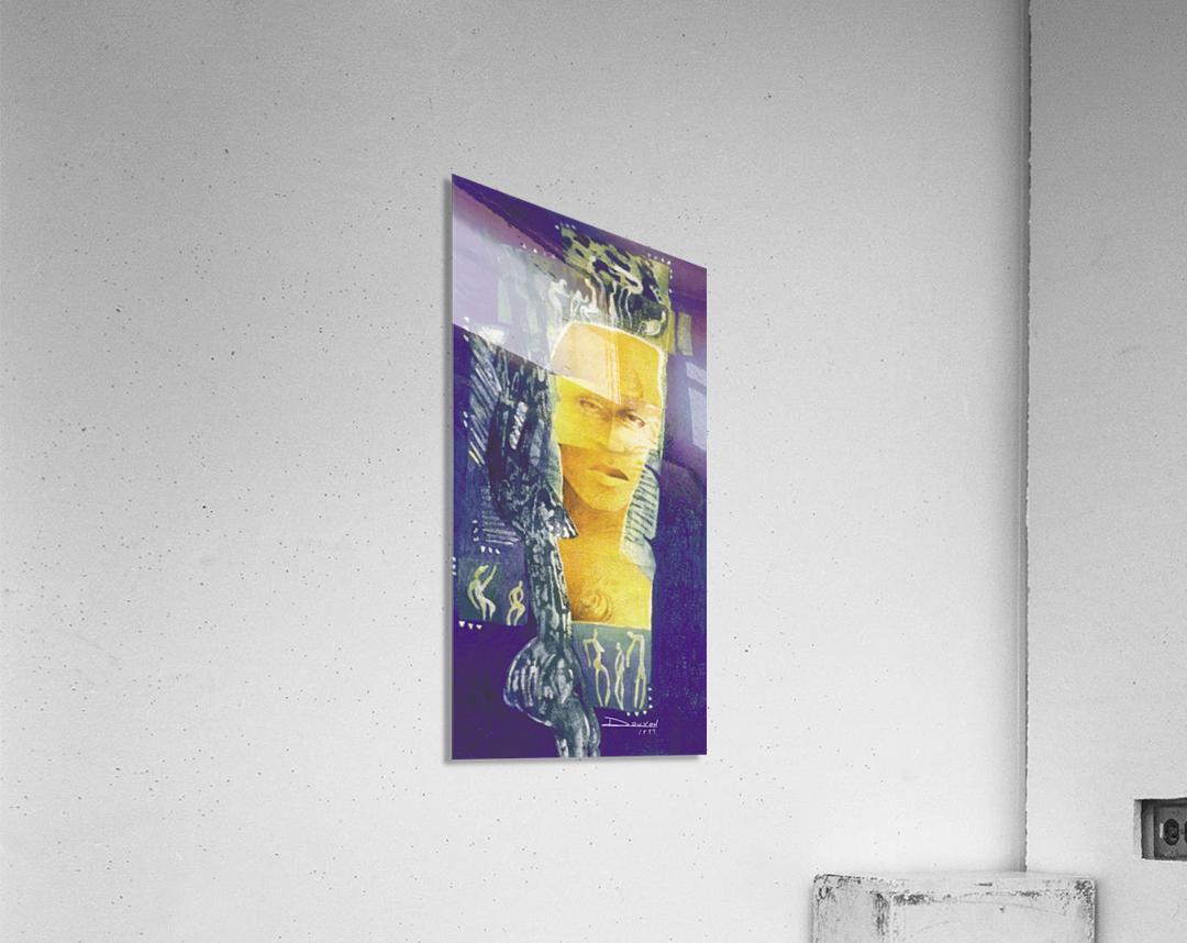 Wondering man  Acrylic Print