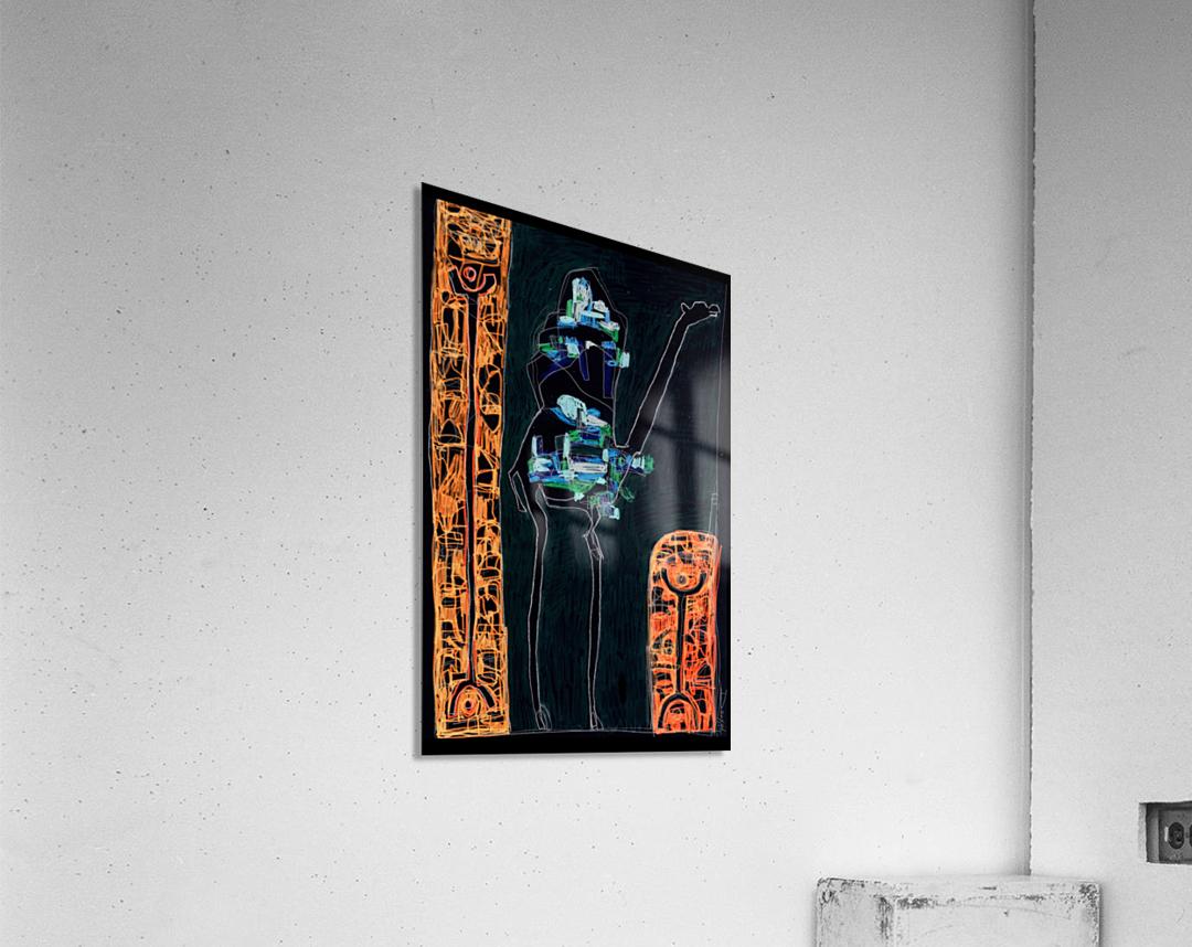 bck Kamel2  Acrylic Print