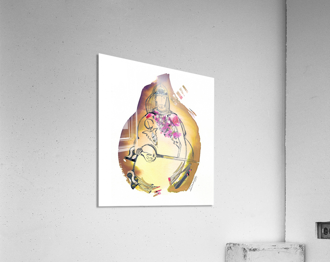 Kreol maghribia_2  Acrylic Print