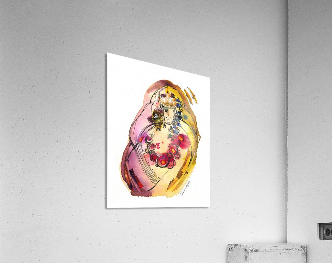 Kreol maghribia_3  Acrylic Print