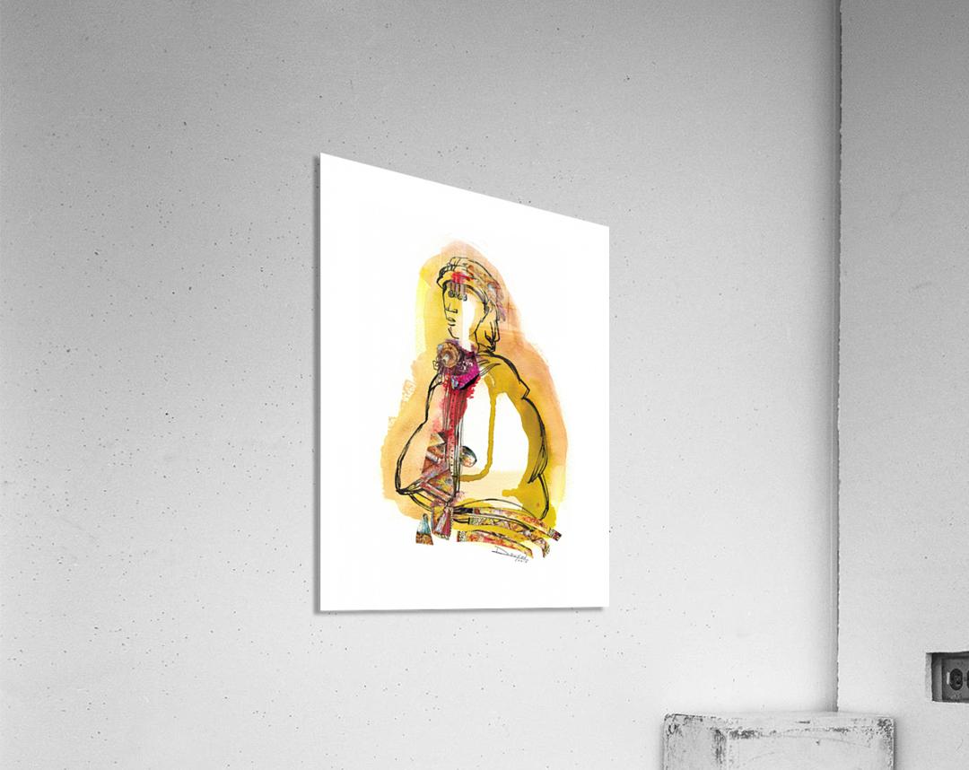 Kreol maghribia_5  Impression acrylique