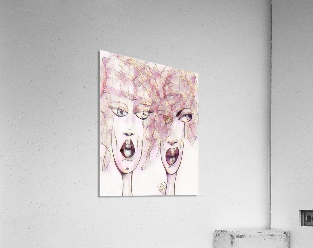 Attitude no.25  Acrylic Print