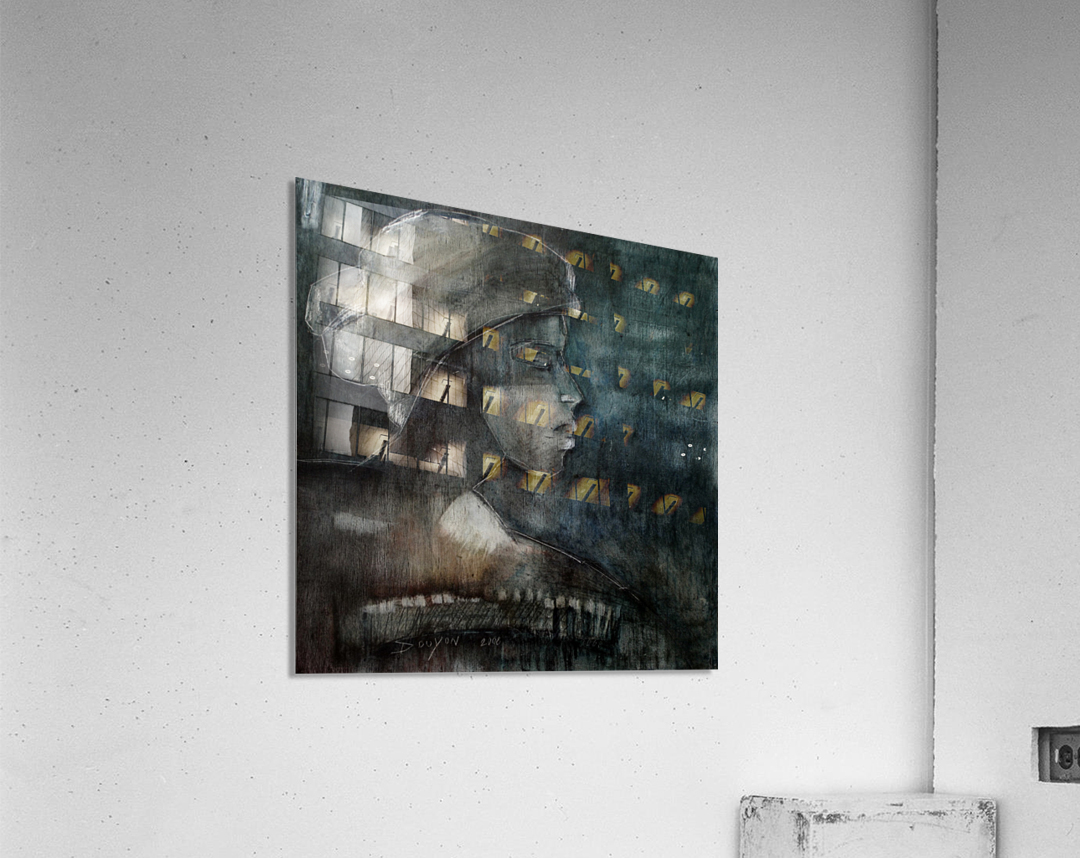 The weight of Shame  Acrylic Print