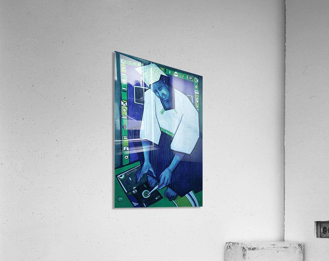 Mozaik bleu  Acrylic Print