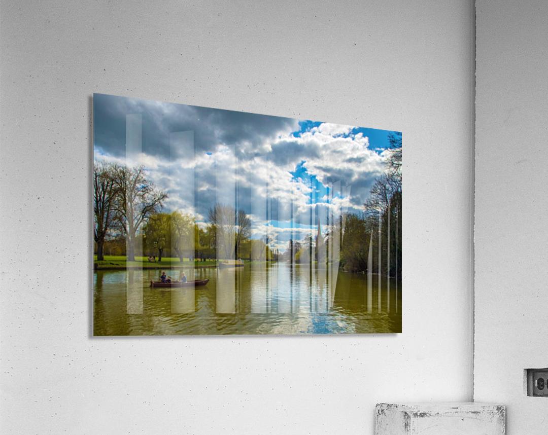 Stratford-Upon-Avon River  Acrylic Print