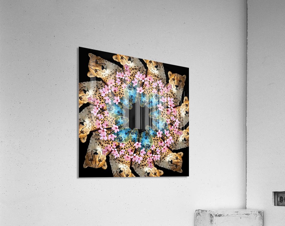 BAD KITTY -  Acrylic Print