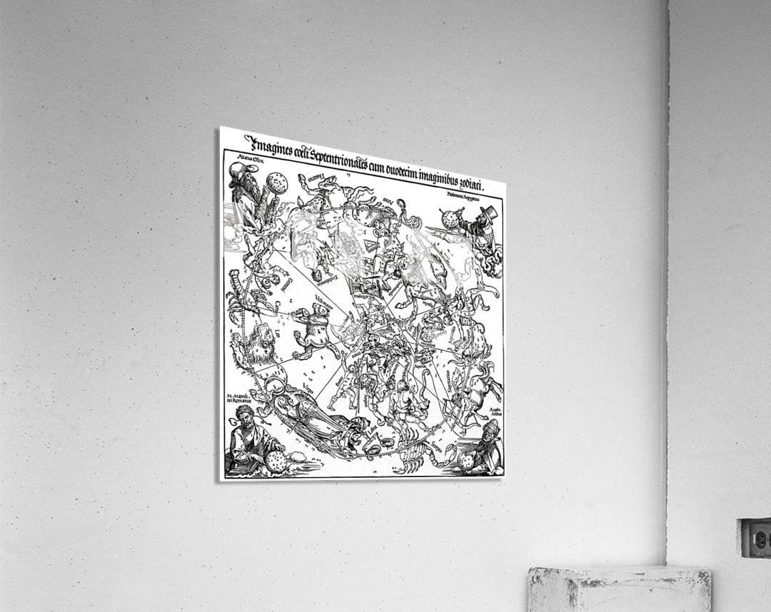 Star map  Acrylic Print