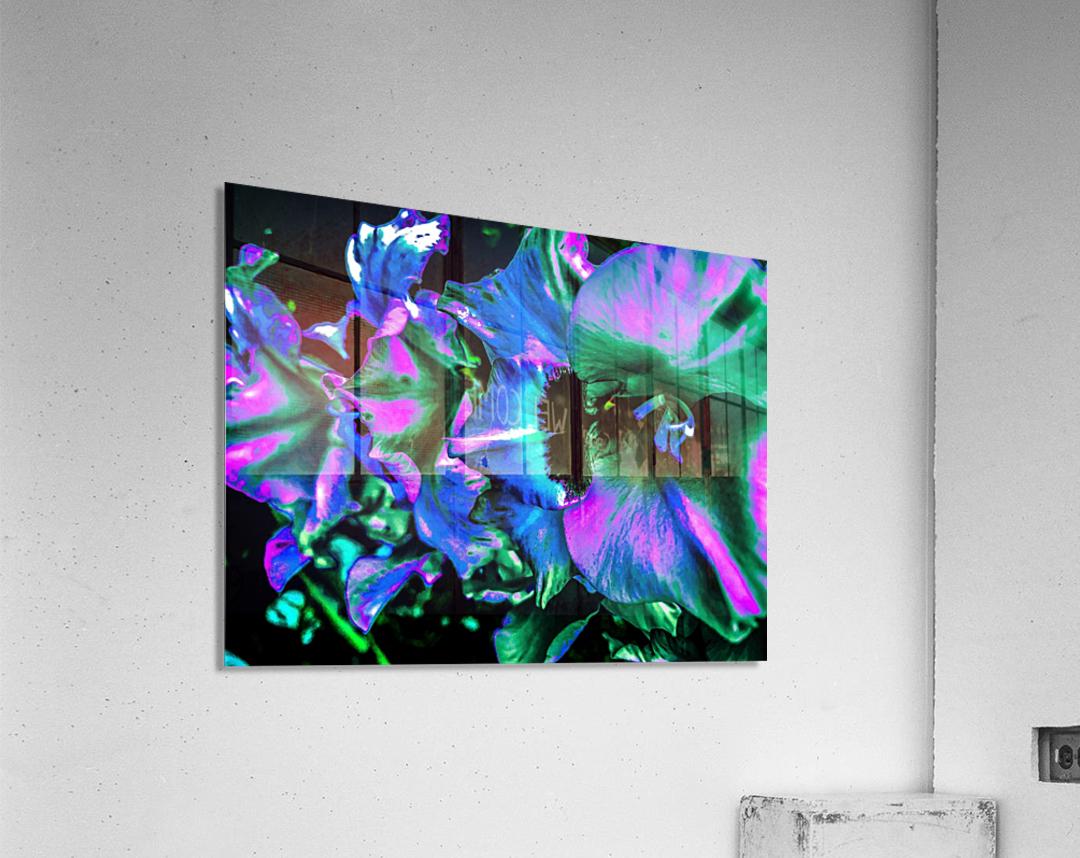 Explosion   Impression acrylique