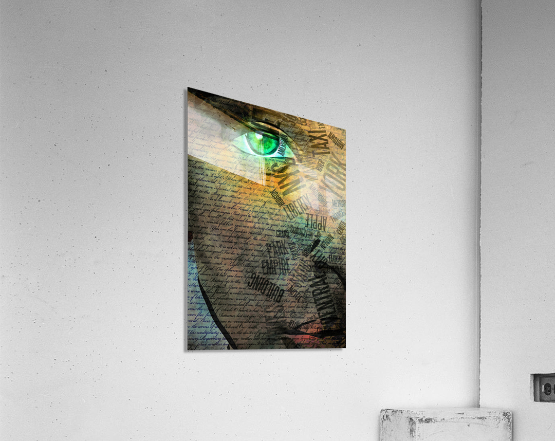 NYC Face  Acrylic Print