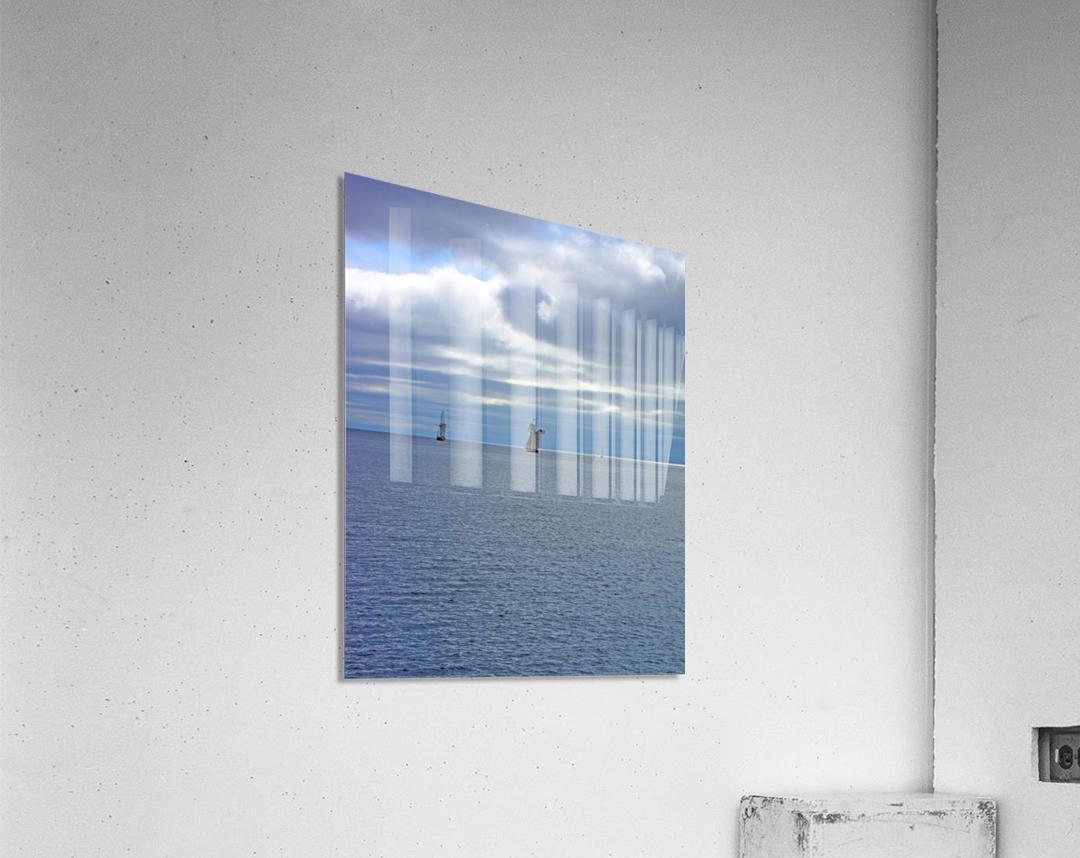 Tall Ships Vista  Acrylic Print