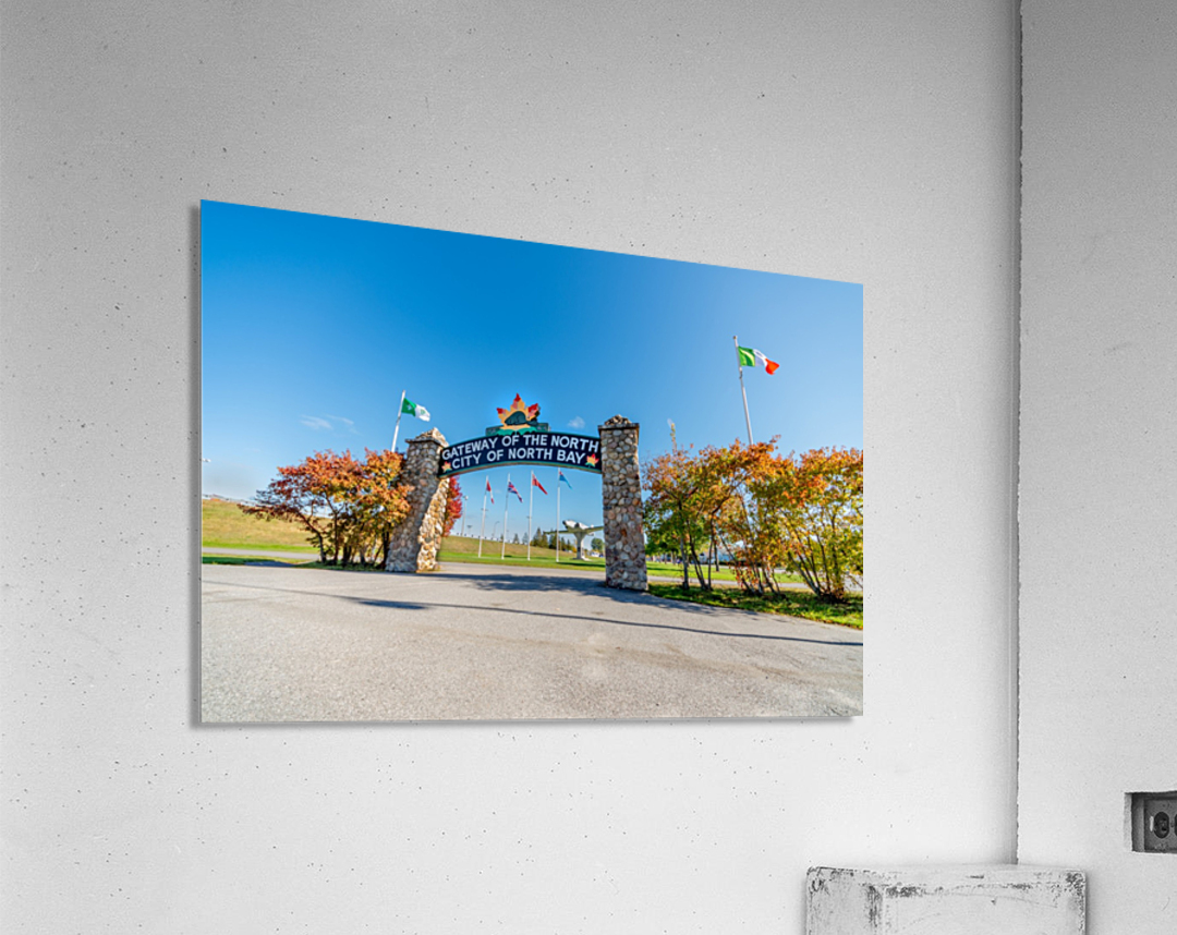 Gateway to The North  Acrylic Print