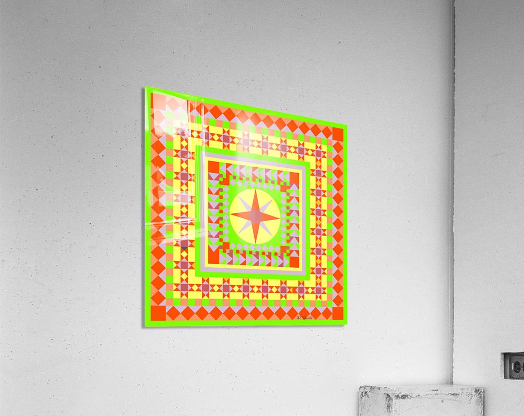 Mariner Medallion 4  Acrylic Print