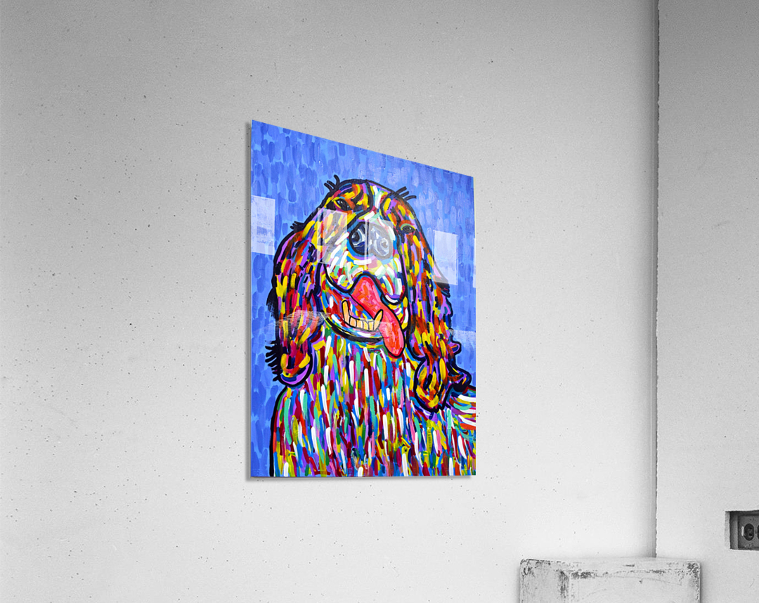 Colorful Smile  Acrylic Print