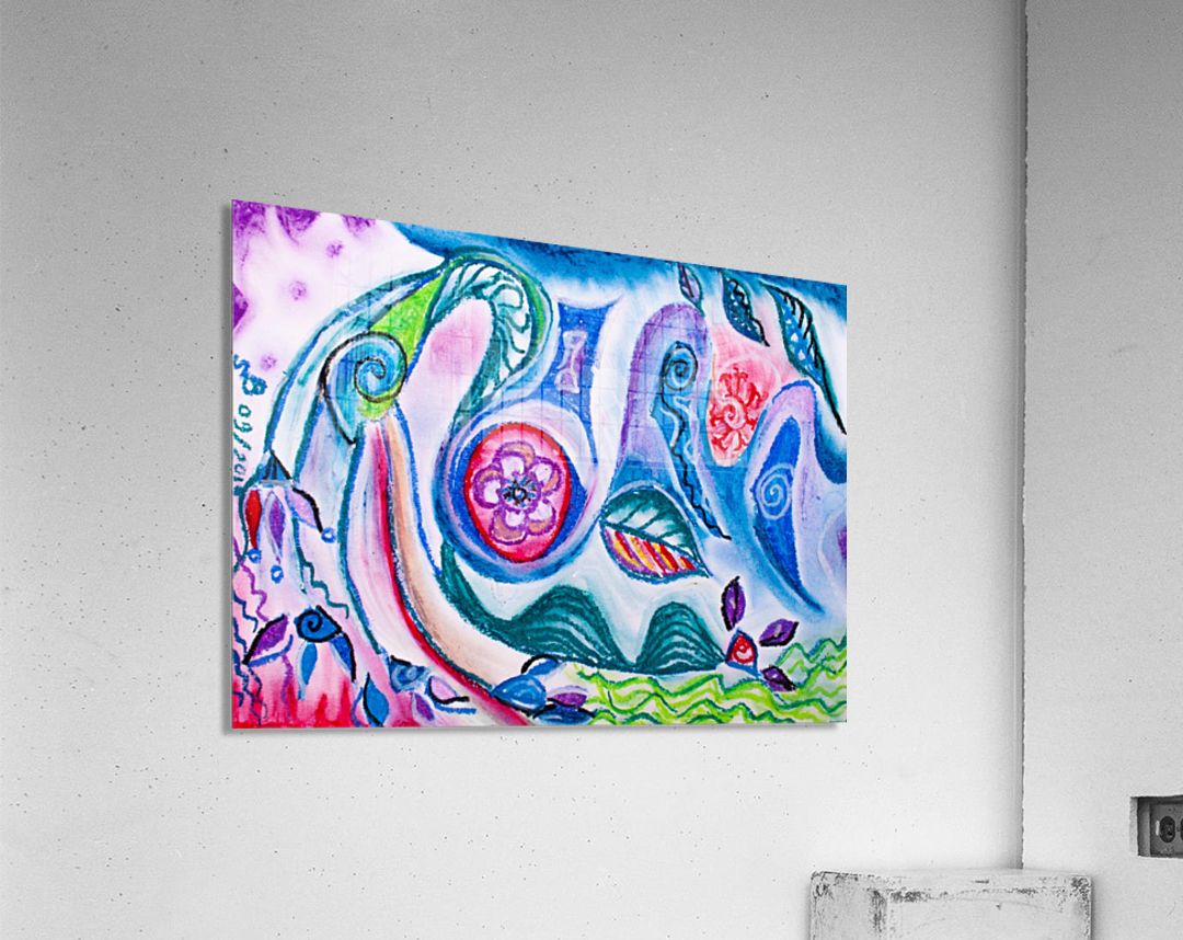 rising thoughts  Acrylic Print