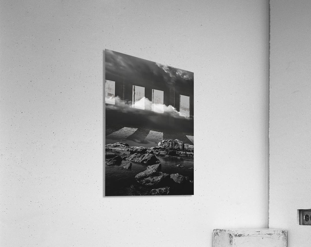 Above The Falls  Acrylic Print