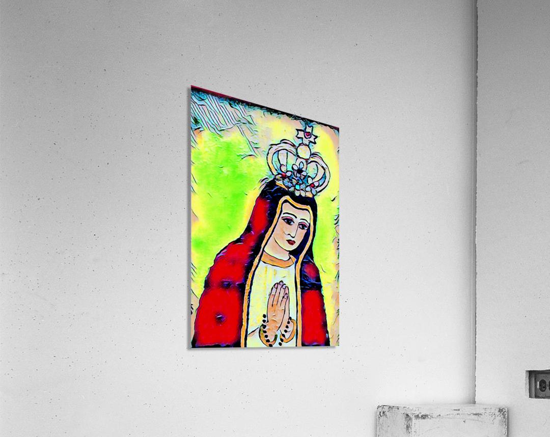saint abstract  Acrylic Print