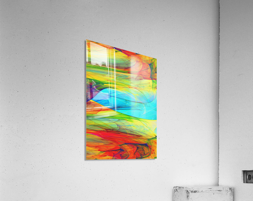 Abstract Composition 123  Acrylic Print