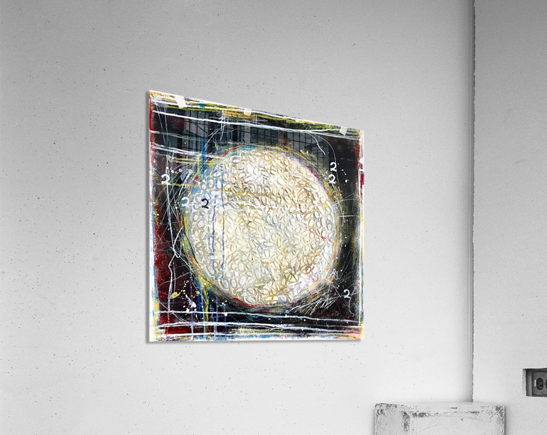 cercle de vie 1  Impression acrylique
