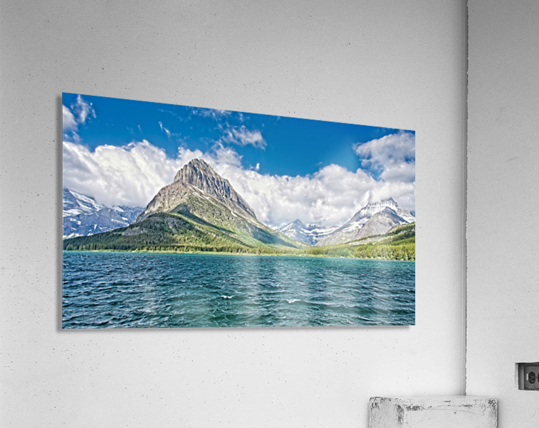 Mount Grinnell  Acrylic Print