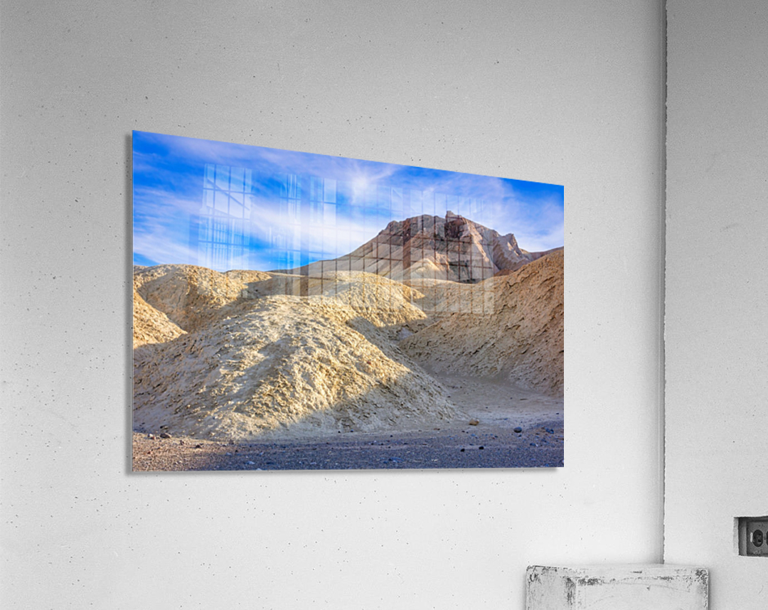 Badlands of Death Valley  Acrylic Print