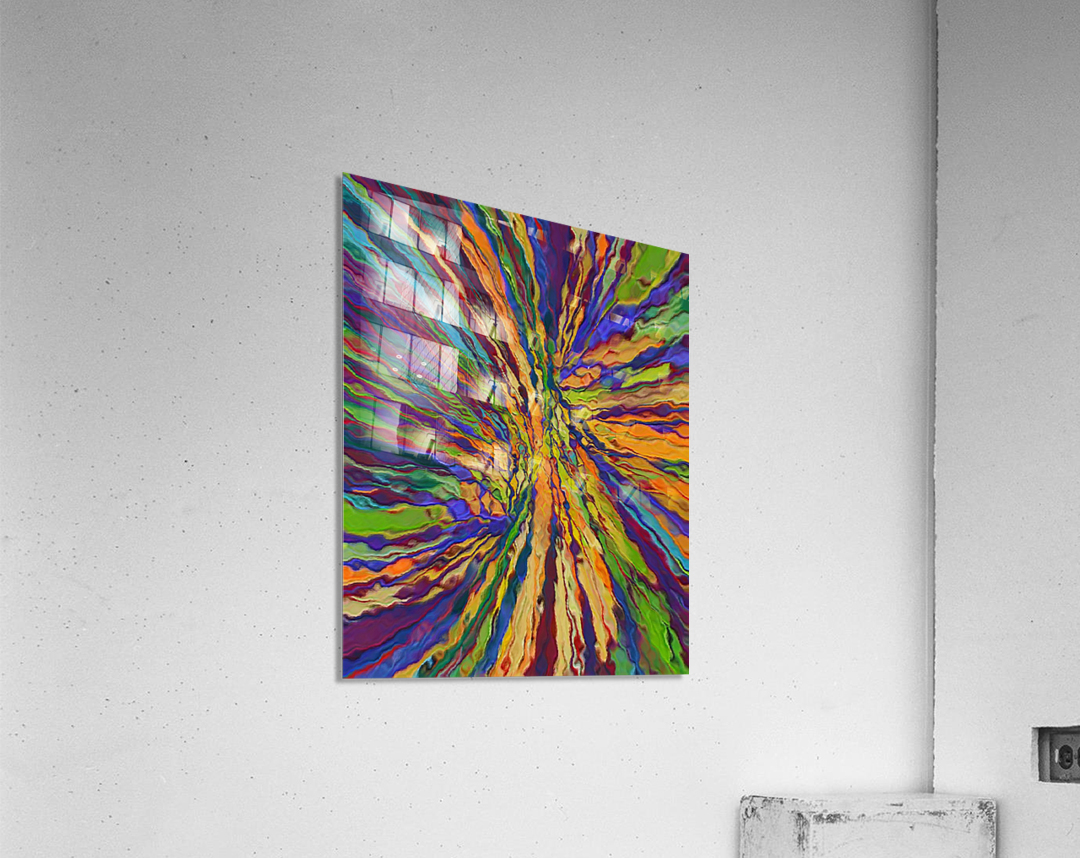 Abstract Composition 141  Acrylic Print