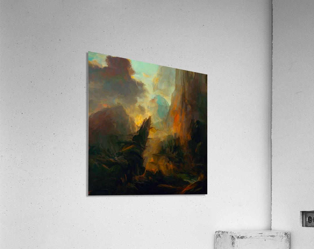 Fierce Landscape  Acrylic Print