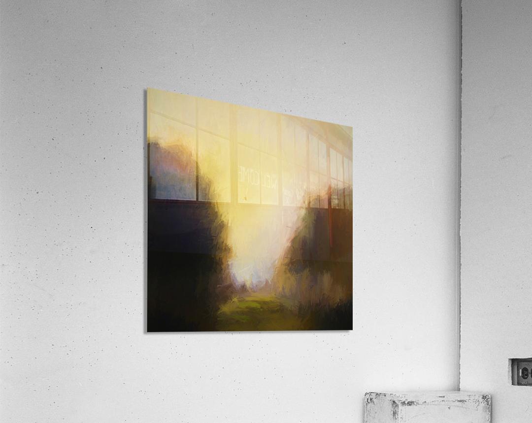 Impressionist landscape  Acrylic Print