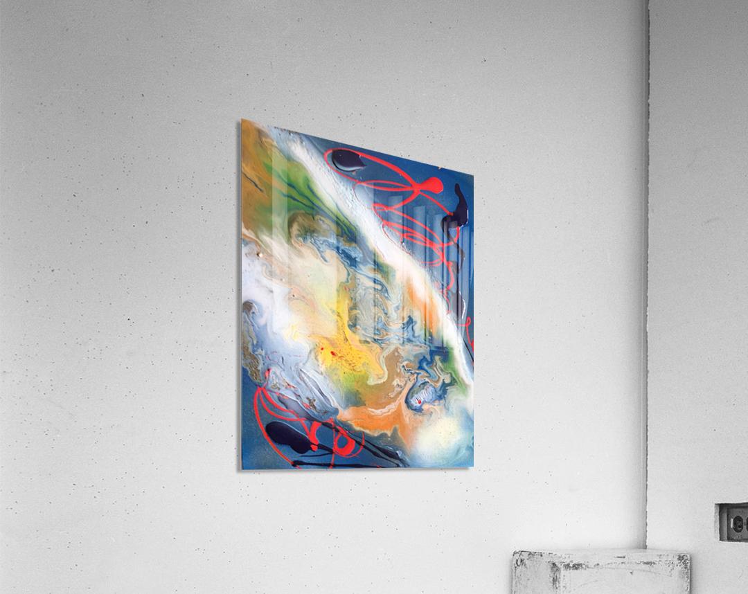 ALPHA  Acrylic Print
