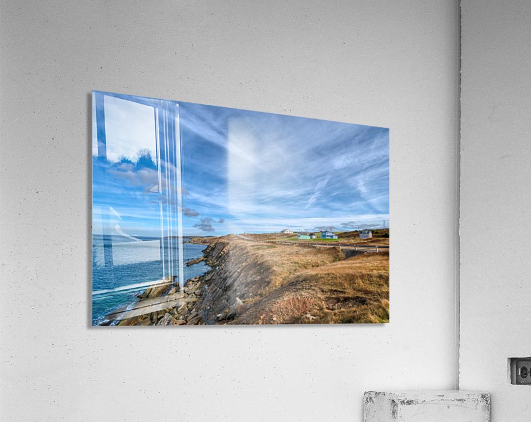 A Drive Home  Acrylic Print