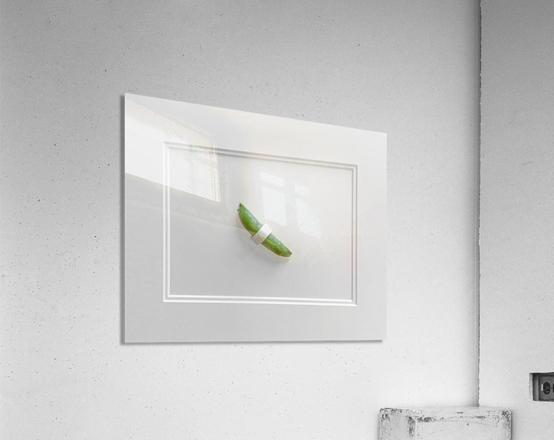 Snap Pea  Acrylic Print